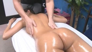 Gorgeous 18 year mature receives fucked hard by her massage therapist