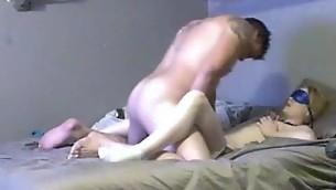 Large tittied amateur chick is having precious sex with boyfriend