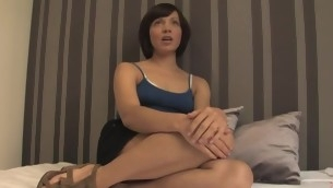 Adulteress blackmailed together with dominated in servitude with anal sex.