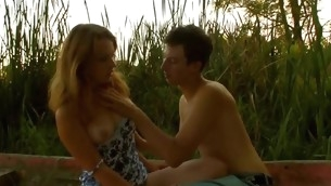 Enticing plus wicked gal has enjoyment with gracious dude gone from